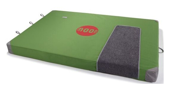 Moon Climbing Saturn Crash Pad Green